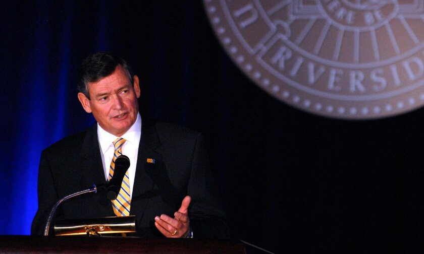 Timothy White, Chancellor of the California State University,