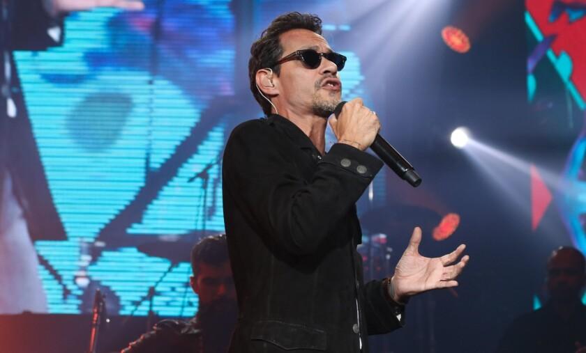 Marc Anthony cantará desde Miami vía streaming.