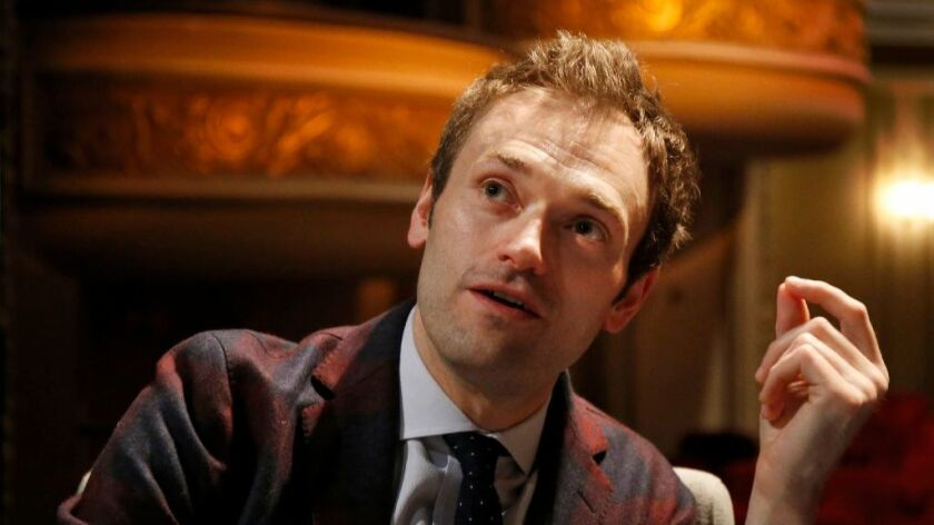 "San Diego native and mandolin wizard Chris Thile debuts Saturday as the new host of ""A Prairie Home Companion."""