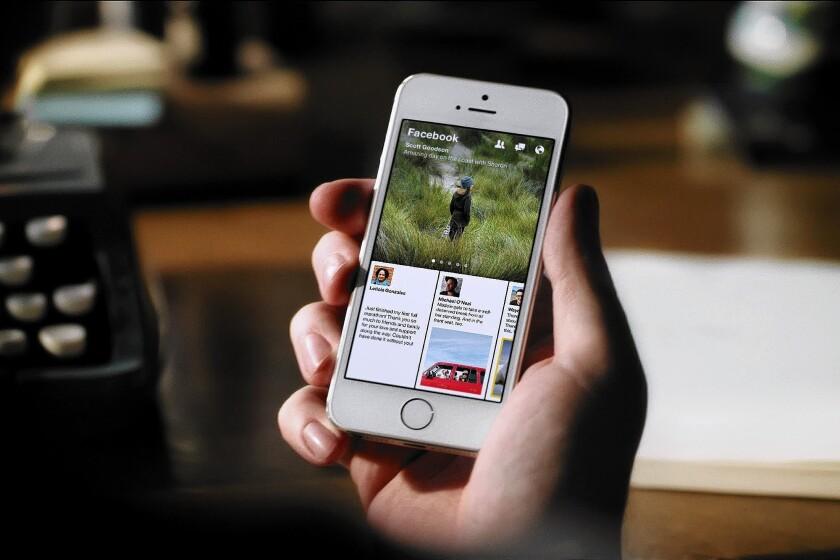 Facebook hopes iPhone users keep eyes glued to Paper app