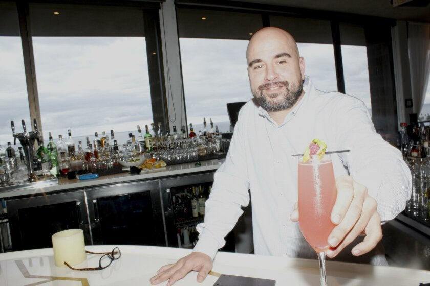 The Triple Crown might be a go-to drink for Cusp visitors thinking of 2016's arrival. Its base of Russian Standard vodka, some fresh lemon juice and a bit of simple syrup for sweetness is added to with fresh raspberries and is shaken before being topped with Prosecco.