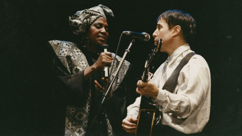 """GREAT PERFORMANCES """"Paul Simon's Graceland Journey"""" airs Friday, January 4, 2013, at 9 p.m. on PBS."""