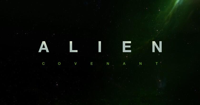 Alien: Covenant title treatment