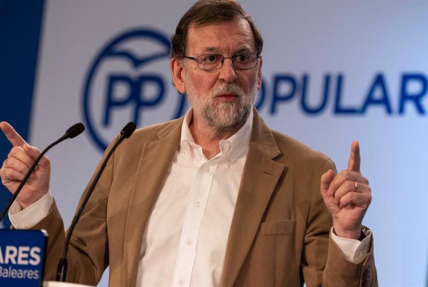 """El presidente del Gobierno, Mariano Rajoy, ha calificado de """"muy buena noticia"""" el pacto al que han llegado la Unión Europea y México que moderniza el tratado económico y comercial entre las partes. EFE"""