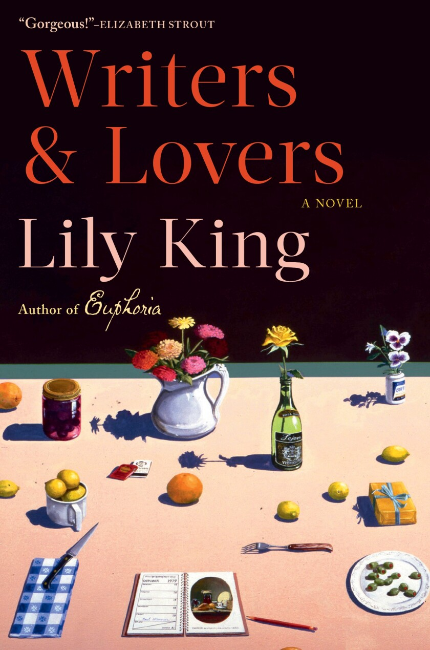 """Book jacket for Lily King's """"Writers & Lovers."""""""