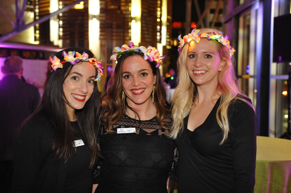 San Diegans celebrated and raised money to support educational and cultural programs at the Fourth Annual Celebration Under the Dome at the San Diego Central Library on Saturday, Nov. 11, 2017.