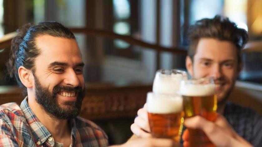 Men drinking beer. (Courtesy Photo)