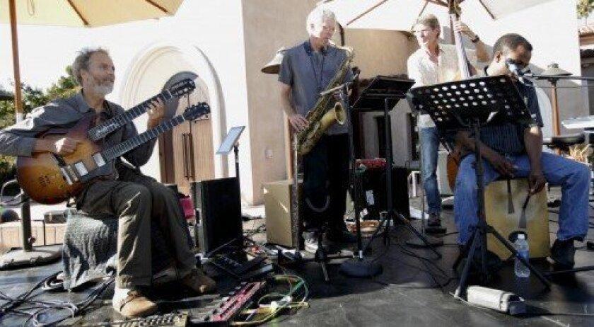 The Peter Sprague Quartet performs.