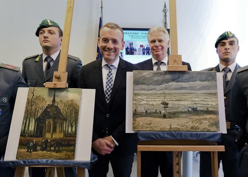 Recovered Van Gogh paintings