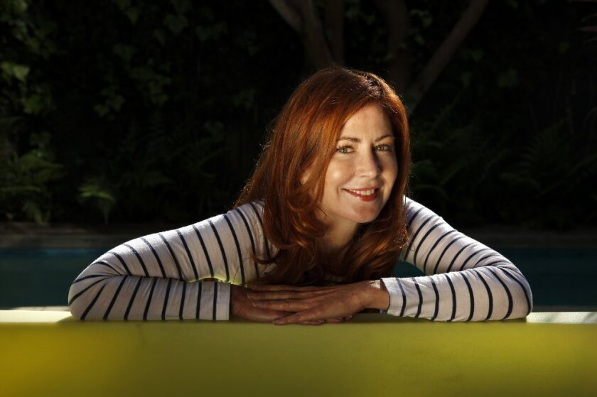 "Dana Delany is Chloe, a spoiled housewife who uses her irresistible allure to advance the political career of her husband in Beau Willimon's ""The Parisian Woman,"" at South Coast Repertory."