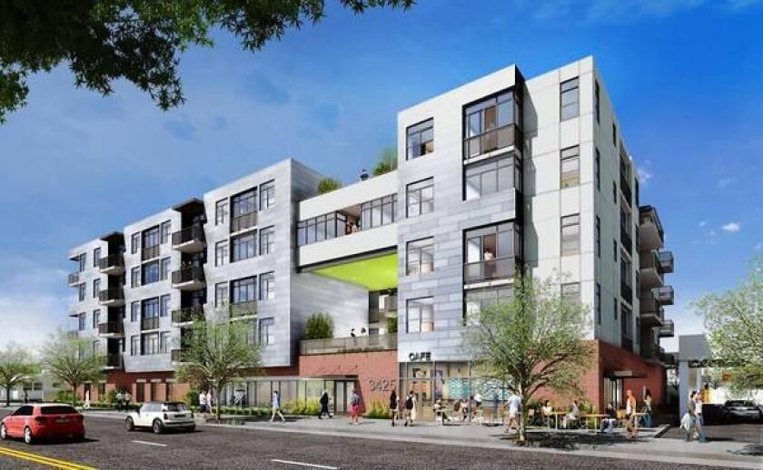 Apartment, retail complex underway in Palms