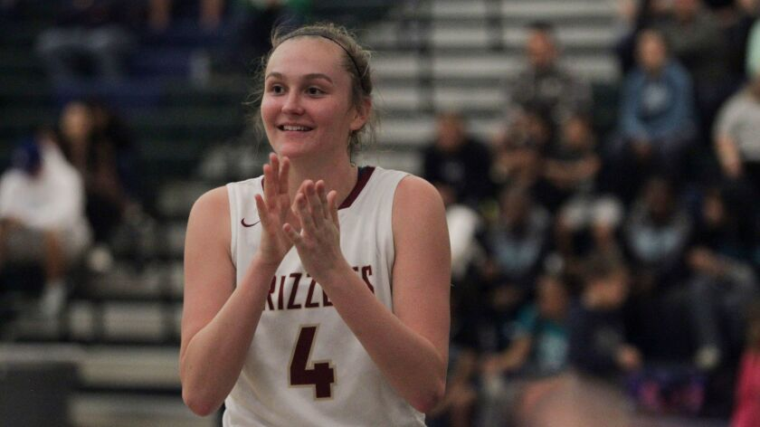 Kathryn Neff (shown in an earlier game) played a key role in Mission Hills' win Wednesday night.