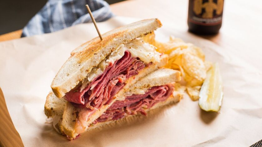 The Reuben at Larry's Deli. Lyudmila Zotova photo