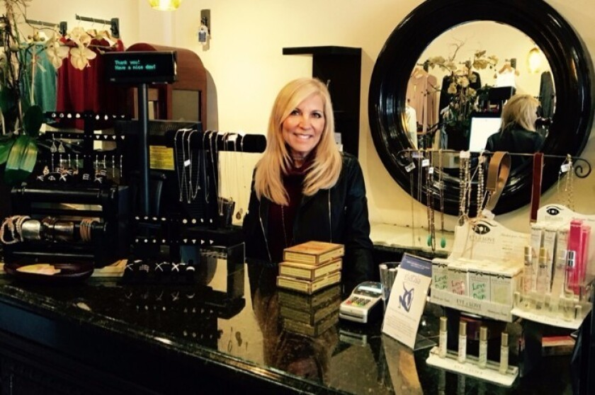 Owner Ronda Chowaiki is closing Ronda's Closet in Carmel Valley after 13 years in business.