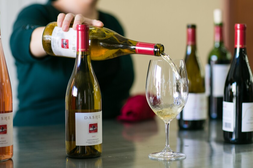 Dashe Cellars at 55 Fourth St. is one of the wineries on Oakland's new Urban Wine Trail.