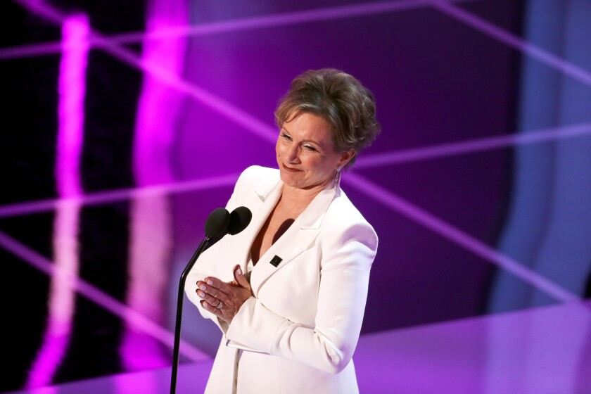 Gabrielle Carteris during the 25th Annual Screen Actors Guild Awards in January in Los Angeles.