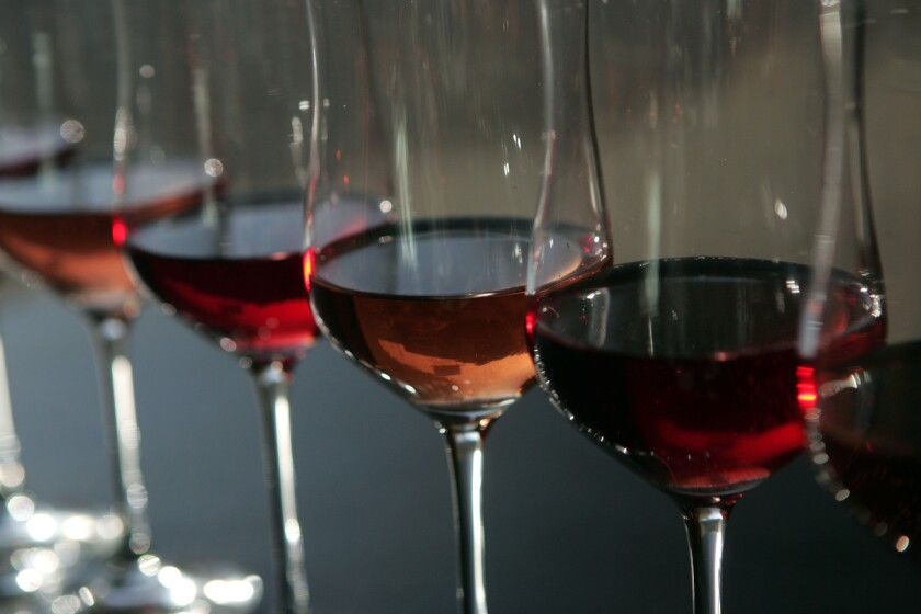 Rosés can be made from many different grapes