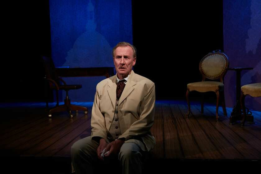 """Daniel Gerroll stars in North Coast Repertory Theatre's """"Dr. Glas,"""" which opens for on-demand streaming on July 21."""