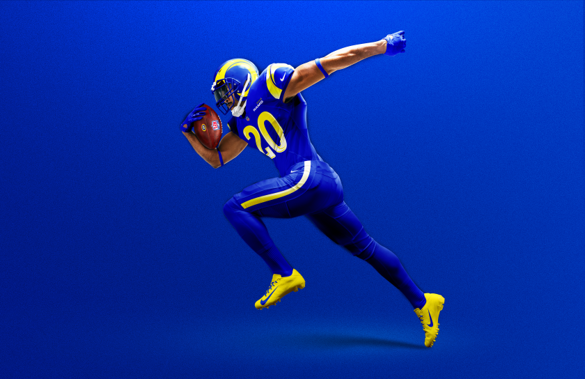 The Rams introduced their new uniforms and color combinations for the 2020 season Wednesday morning.
