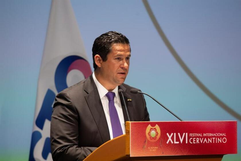 El gobernador del estado de Guanajuato, Diego Sinhue Rodríguez, participa el, miércoles 10 de octubre de 2018, en la inauguración del Festival Internacional Cervantino, en estado de Guanajuato (México). EFE/Archivo