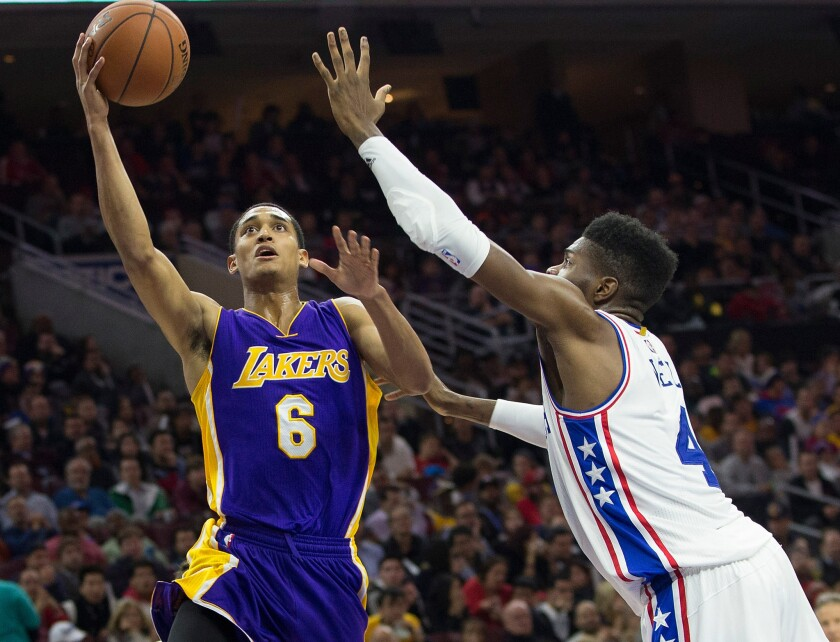 Lakers may benefit by matching a Jordan Clarkson offer sheet this summer