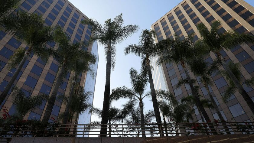 A top manager at the Los Angeles Department of Building and Safety says employees have been engaging in multiple forms of financial wrongdoing. Above, the agency's downtown headquarters.
