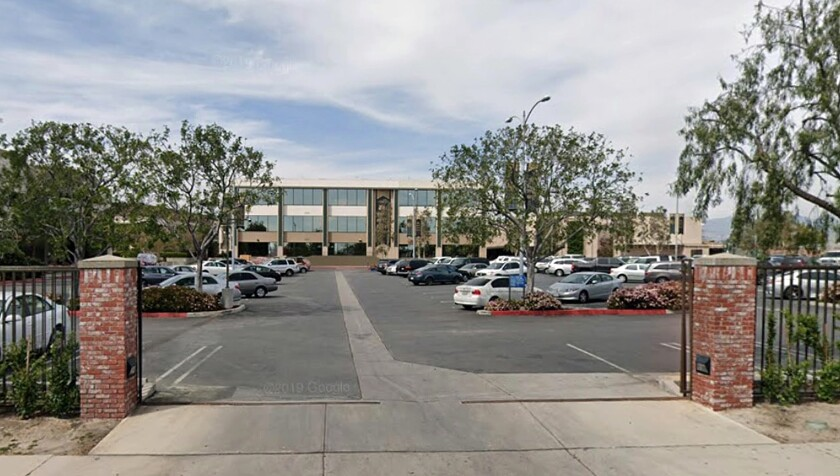 Grace Community Church in Sun Valley in an image from Google Maps