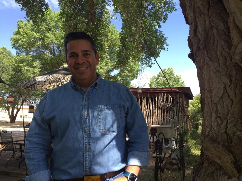 As chairman of the Democratic Congressional Campaign Committee, Rep. Ben Ray Luján has a difficult,
