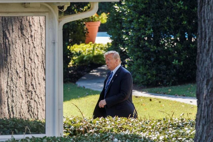 El presidente de los Estados Unidos, Donald J. Trump. EFE