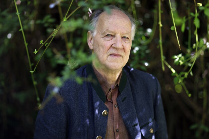 A box set of 16 of director Werner Herzog's films is being released.