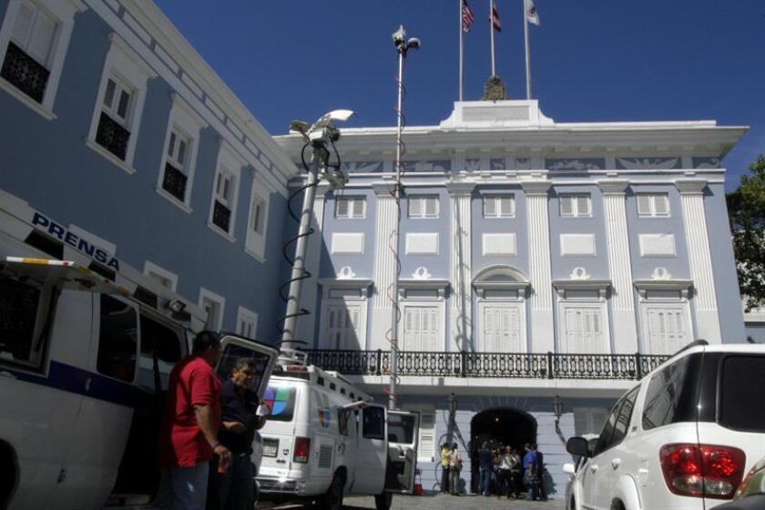 Fotografía de La Fortaleza, casa de Gobierno de Puerto Rico. EFE/Archivo