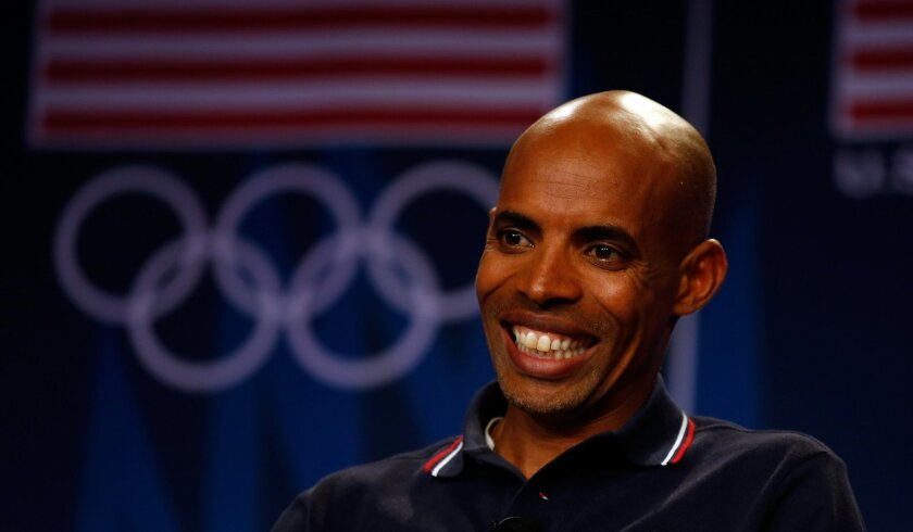 As a senior at San Diego High, Meb Keflezighi swept state titles in the 1,600 and 3,200 meters.
