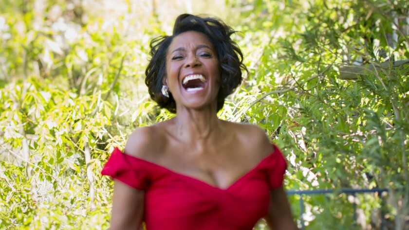 "Actress Margaret Avery, nominated for supporting role for 1985's ""The Color Purple,"" at her Hollywood home on Feb. 19, 2016."