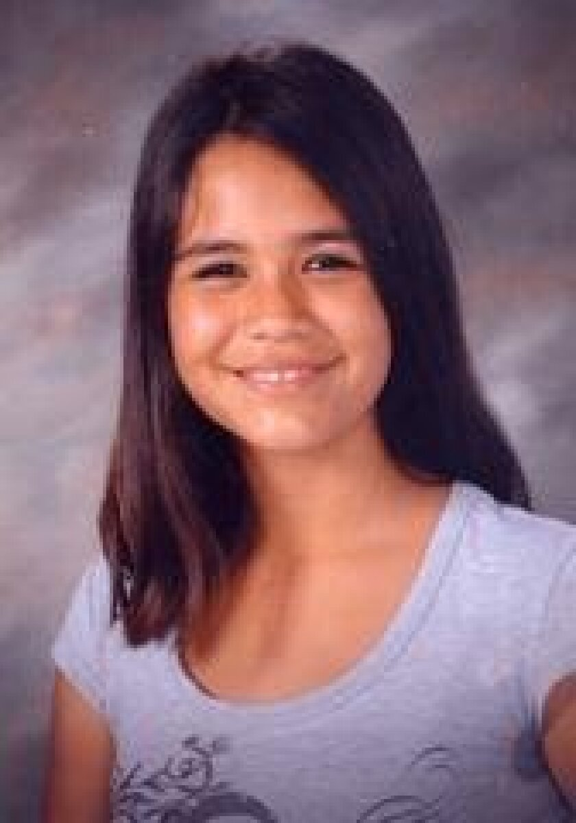 Daniela Rivas, a runaway from Escondido.