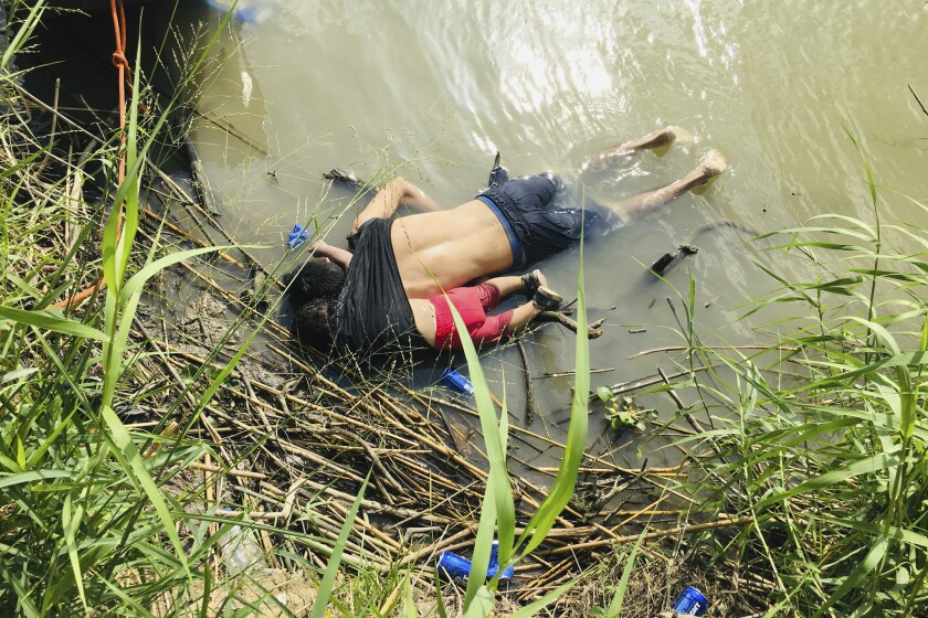 Impotencia e indignación causó en los salvadoreños ver la tragedia de padre e hija en el Río Bravo