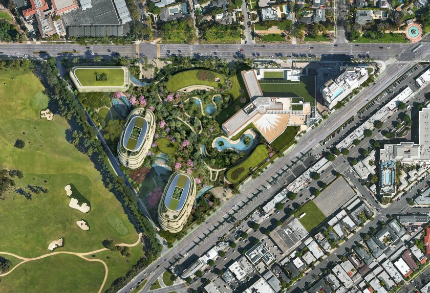Rendering of One Beverly Hills