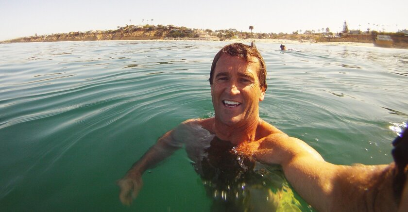 """Robert Nichols, chairman of the Surfing Madonna Oceans Project, loves """"swimming, surfing, running, free diving and anything that involves the ocean and adrenaline."""""""
