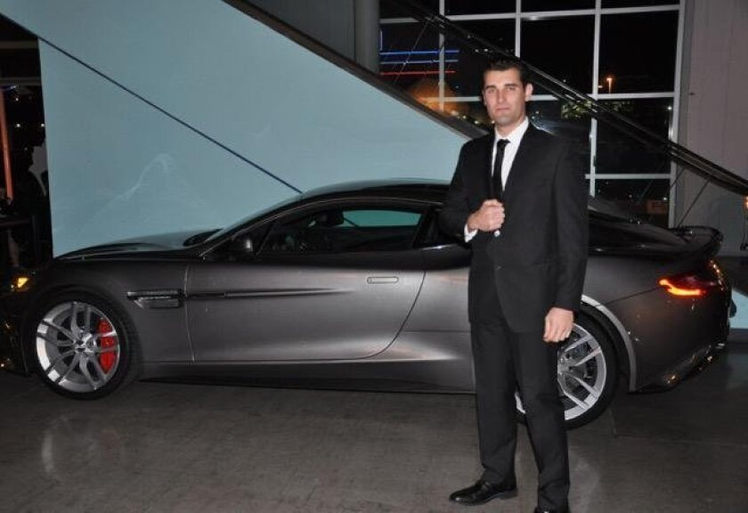 Bond Guy Danny Dutra & Aston Martin
