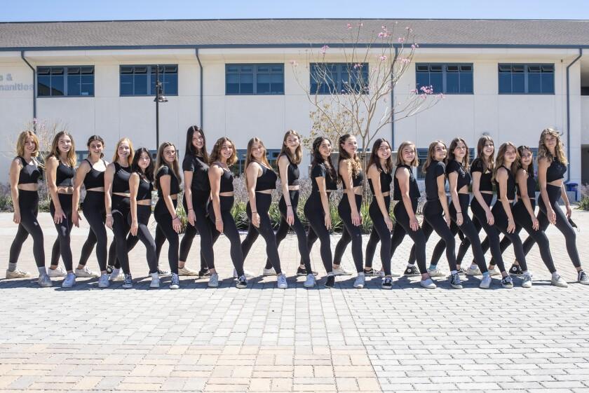 The San Dieguito Academy Dance Ensemble