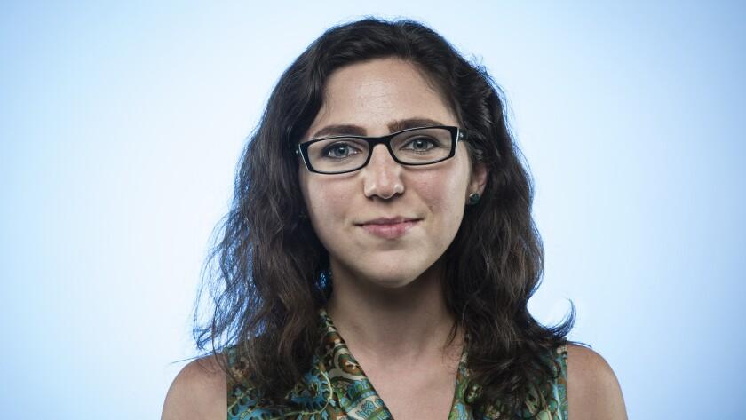 A portrait of Emily Alpert Reyes.