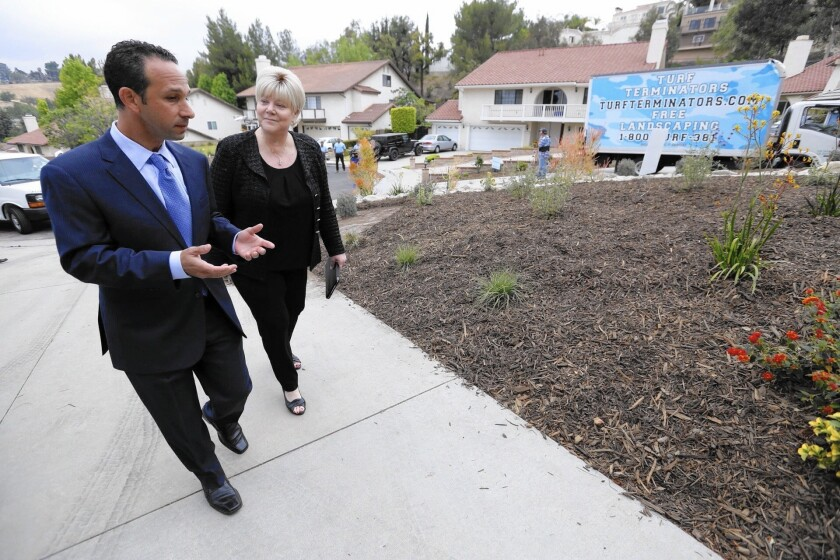 L.A. City Councilman Mitchell Englander, left, says he will seek the 5th District seat on the L.A. County Board of Supervisors.