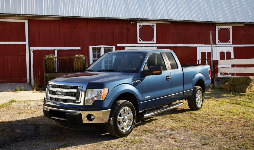 A brake-failure investigation will cover about 420,000 Ford F-150 pickups with 3.5-liter, six-cylinder engines from the 2013 and 2014 model years.