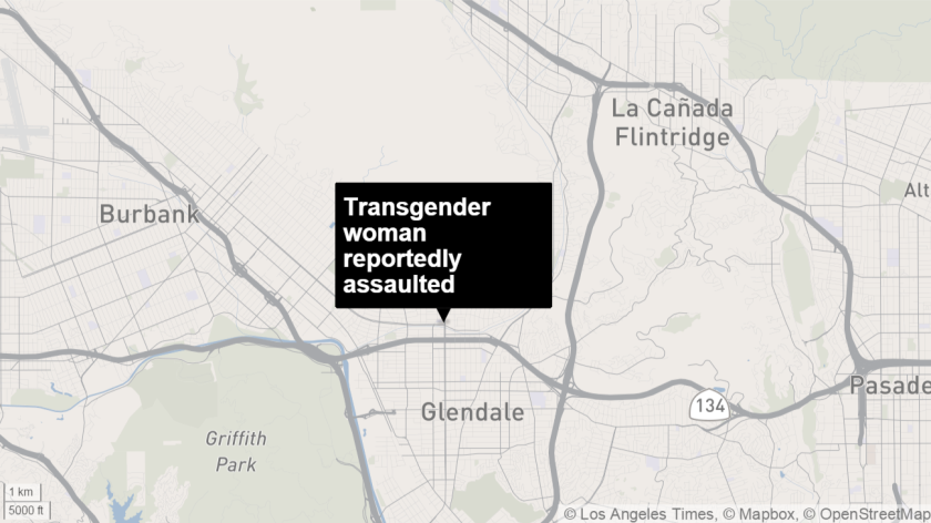 Transgender woman reportedly assaulted