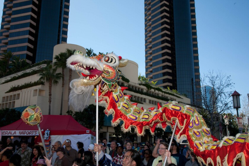 San Diego Chinese New Year Fair.