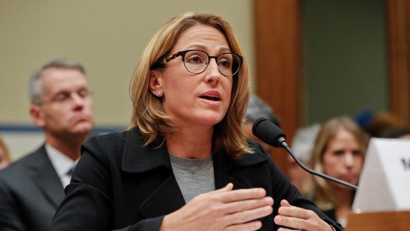 Mylan CEO Heather Bresch, testifying before Congress in September. But she cut another great deal with the government a couple of weeks later.