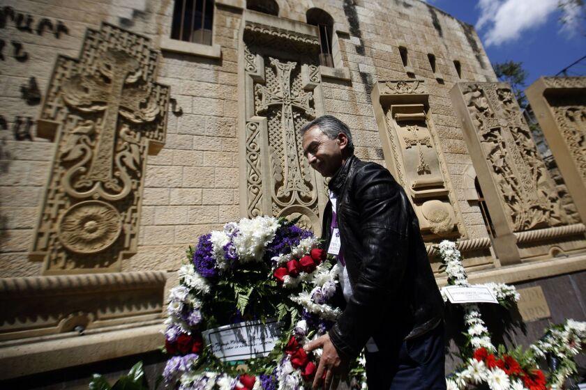 Armenian genocide Jerusalem