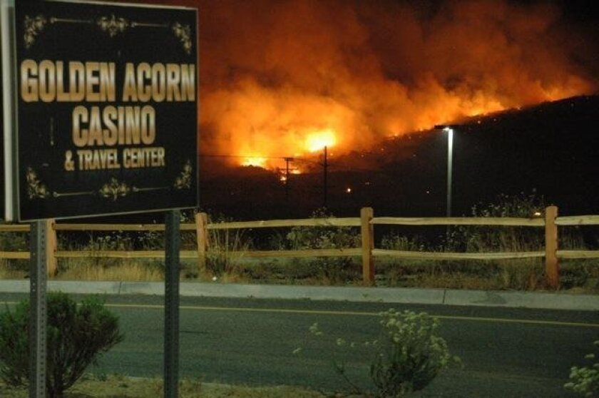 Evacuations Still In Effect For Old Fire The San Diego Union Tribune