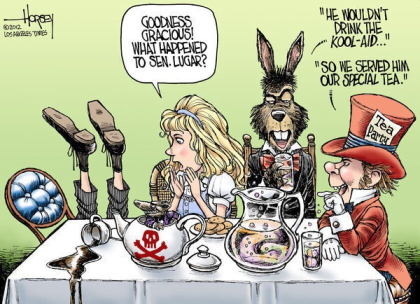 Tea party takes down Richard Lugar
