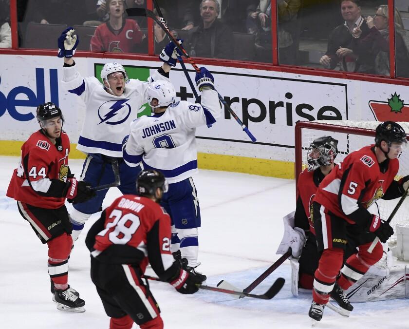 Lightning Senators Hockey