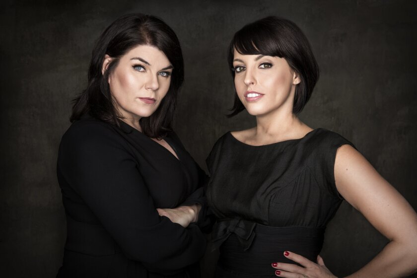 """(L-R)- An author photo of Karen Kilgariff and Georgia Hardstark for their new book """"Stay Sexy and Do"""